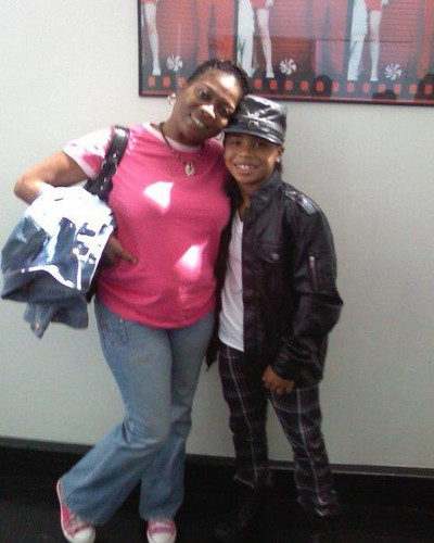 Roc Royal & his mommy♥