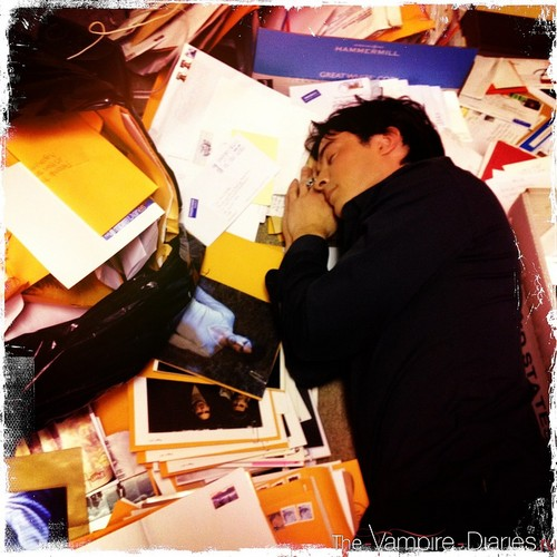 SHHH!!-Ian's sleeping-LOL