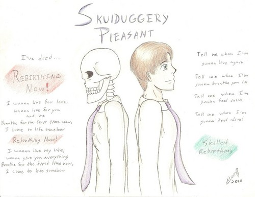 Skulduggery Pleasant 壁紙 possibly with アニメ called SP <3