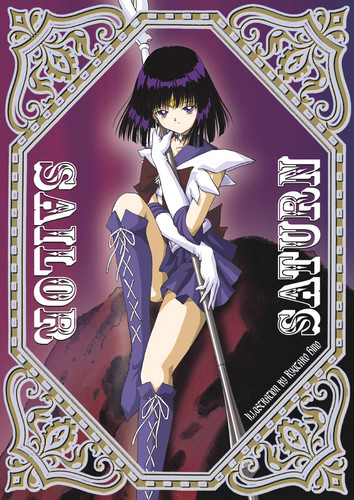 Sailor Saturn Card