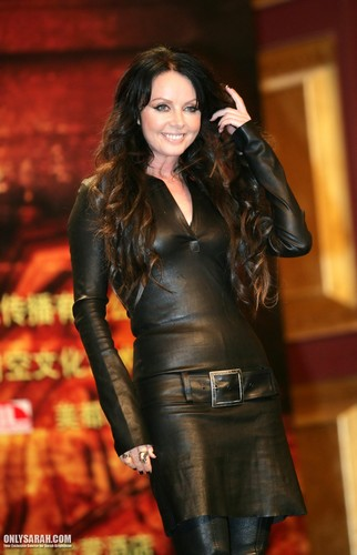 Sarah Brightman Hintergrund probably containing a hip boot and tights entitled Sarah Brightman