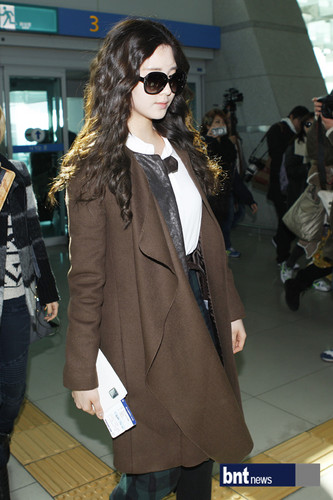 Seohyun airport fashion to âm nhạc Bank Paris