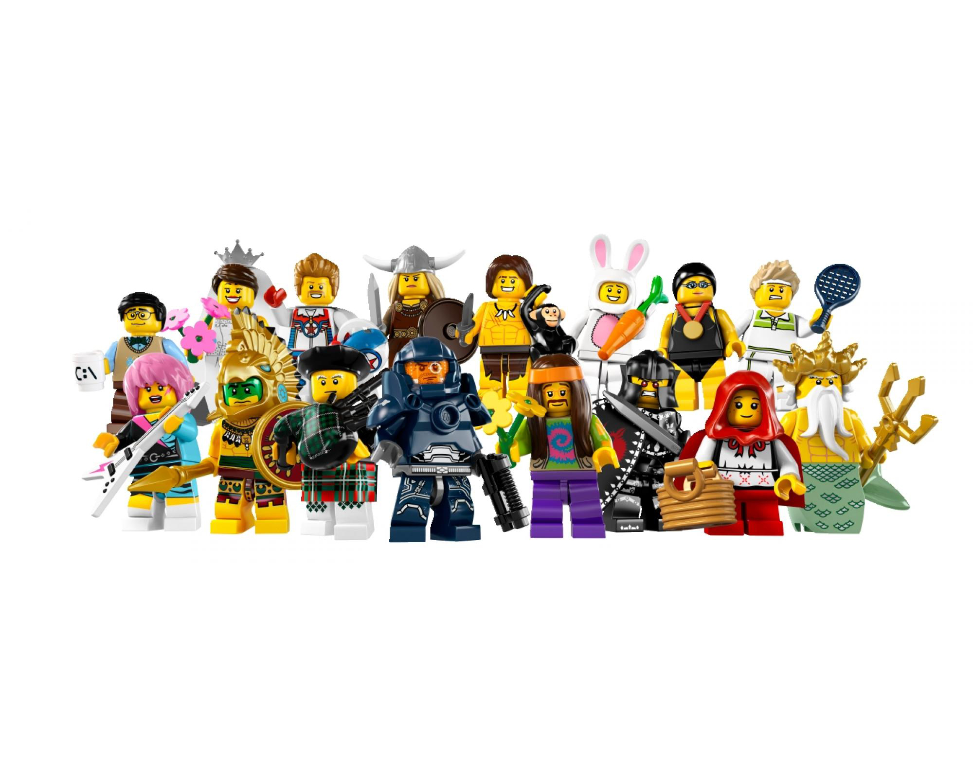 Лего minifigures 1500 spiele - 4051