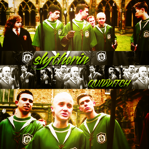 Slytherin Qudditch