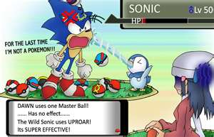 Sonic: An extraordinary Pokemon