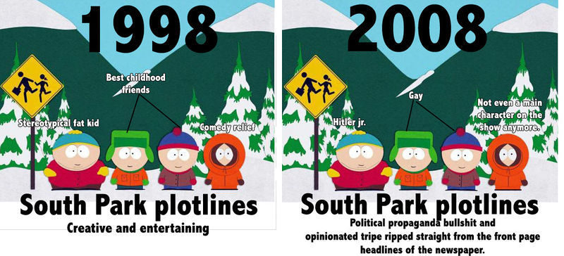 South Park - Then and Now
