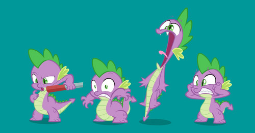 Spike poses