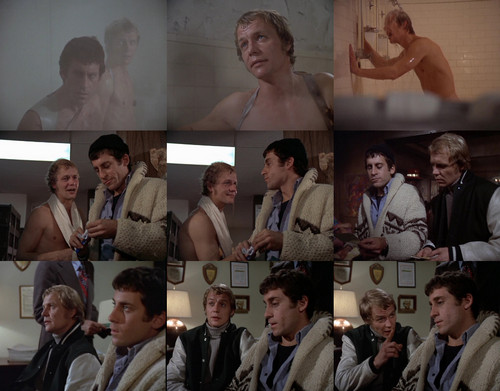 Starsky and Hutch (1975) 壁纸 with a business suit entitled Starsky & Hutch collage