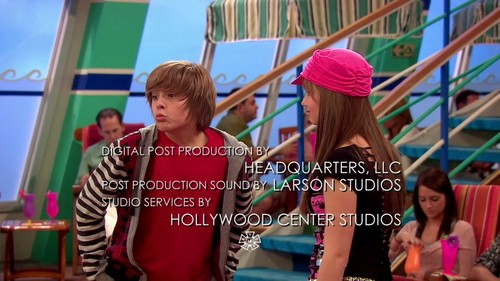 Suite Life On Deck - 2x01 - The Spy Who Shoved Me - suite-life-on-deck Screencap