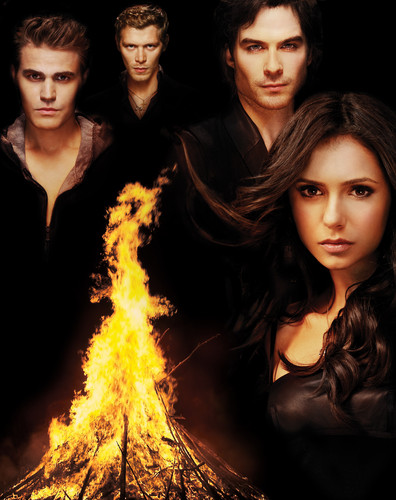The Vampire Diaries wallpaper titled TVD Promo Poster