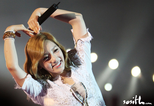 Taeyeon @ 2012 Girls Generation Tour in Hongkong