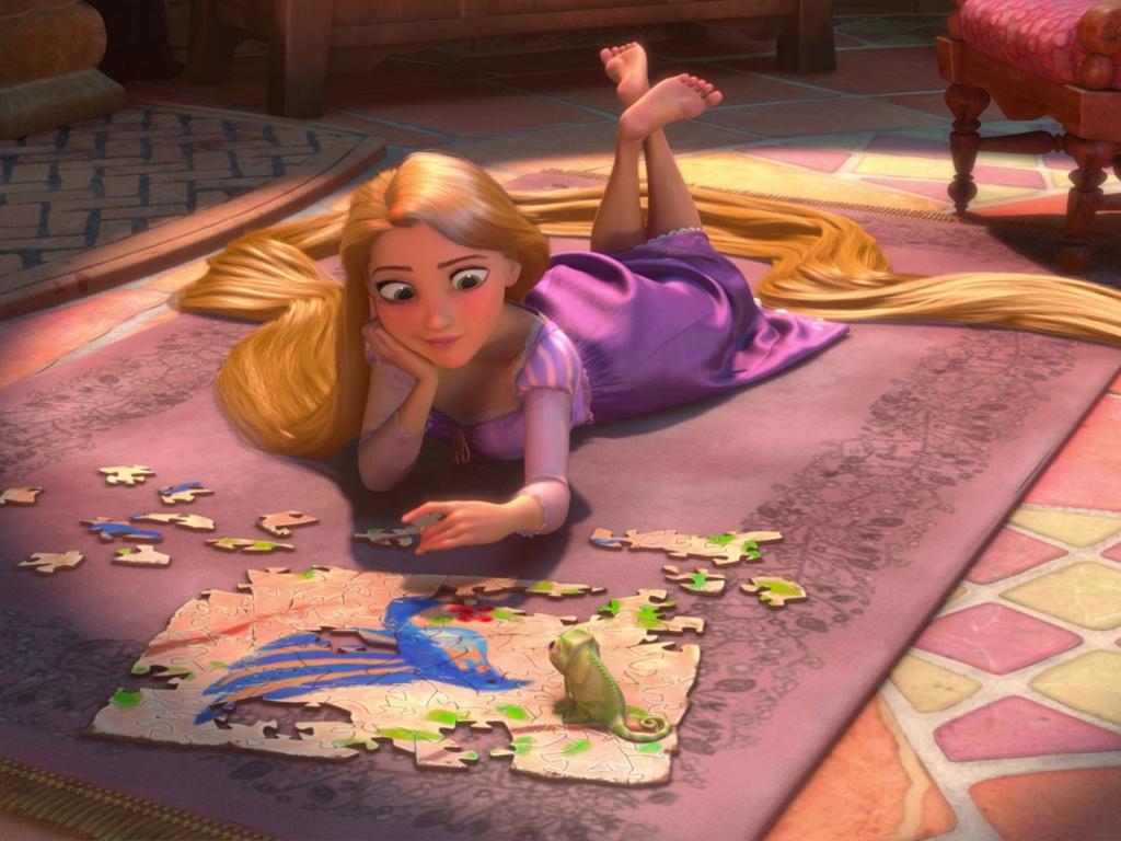 Công chúa tóc mây hình nền
