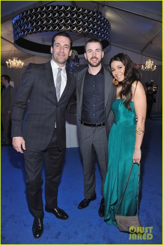 Taylor Lautner & Chris Evans: NFL Honors with Jon Hamm!