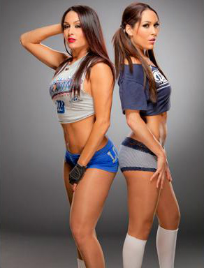 Diva WWE kertas dinding containing a bikini entitled The Bella Twins