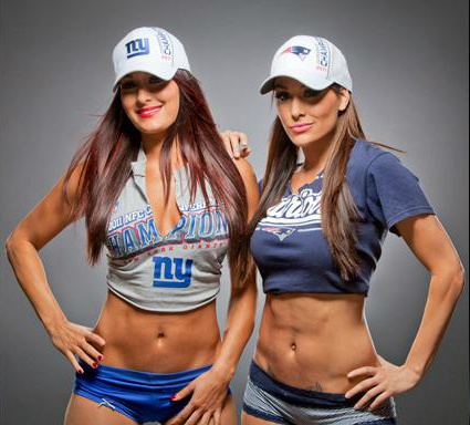 wwe divas fondo de pantalla titled The Bella Twins