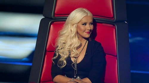 The Voice wallpaper possibly with a sign and a portrait titled The Voice season 2 ; Christina