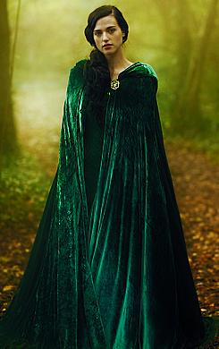 The beautiful Lady Morgana