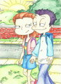Tommy and Lil - rugrats-all-grown-up photo