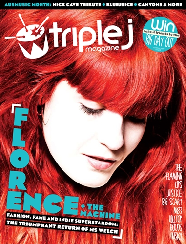 Triple J Magazine Cover