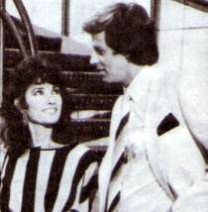 """Tristan Rogers and Susan Lucci on """"The Love Boat"""" (1983)"""