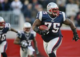 New England Patriots 바탕화면 containing a tailback, a lineman, and an american football called Vince Wilfork!!!