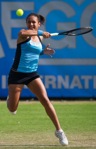 Heather Watson during a Moment of Brilliance
