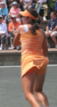 Christina McHale is an Orange Delight - wta photo
