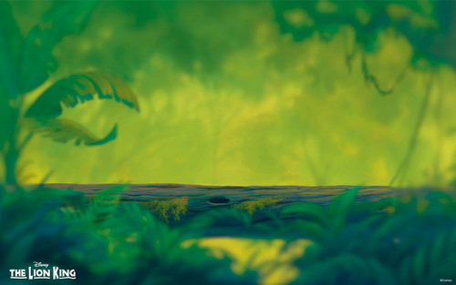 Walt Disney Hintergründe - The Lion King