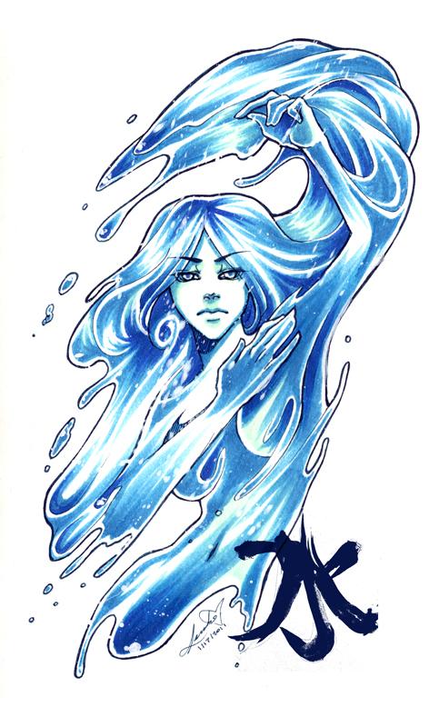 вода аватар: