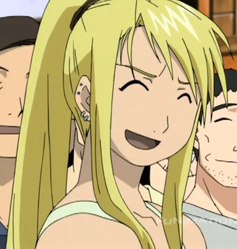 Funimation Entertainment wallpaper with anime entitled Winry