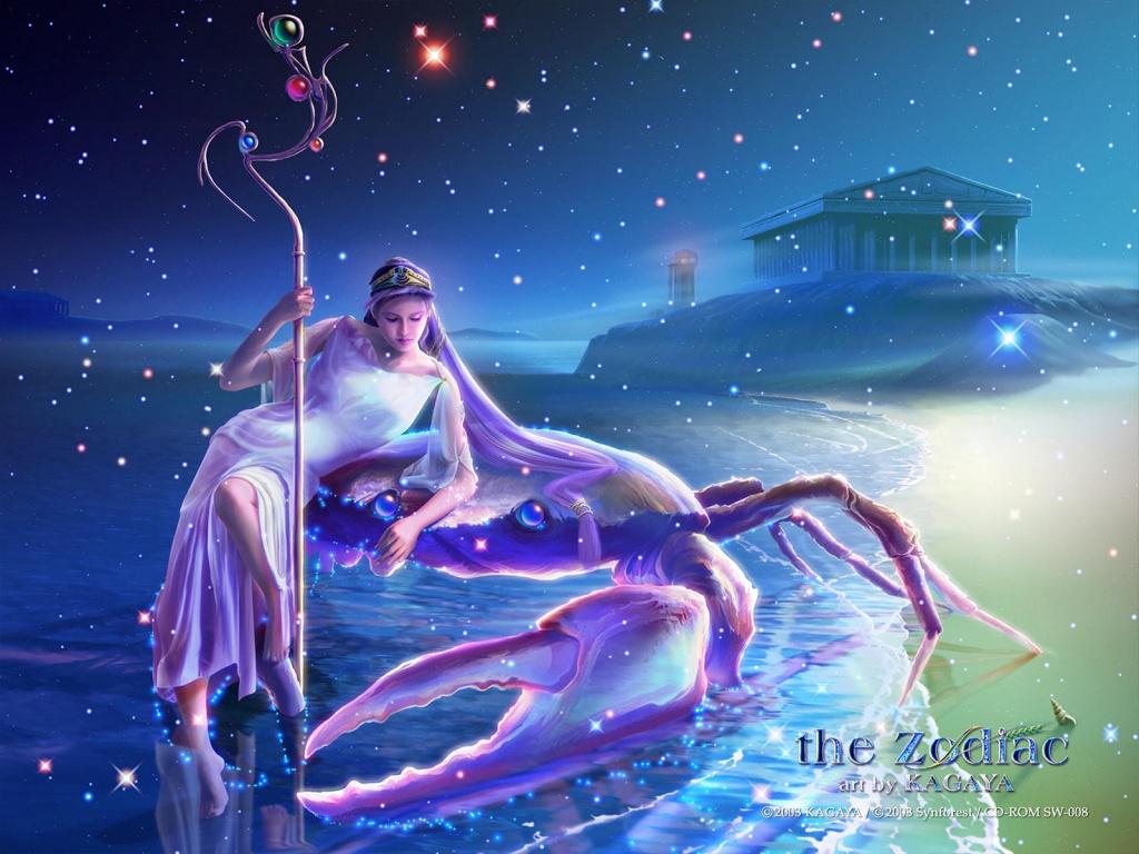 Zodiac karatasi la kupamba ukuta