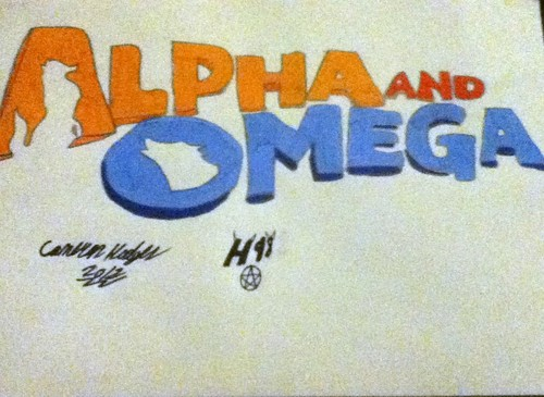 alpha and omega intro drawing