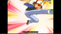 ash ketchum kick a ball