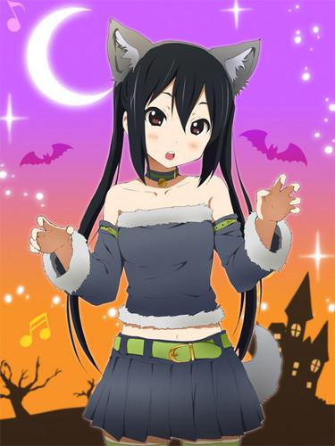 azusa halloween outfit