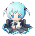 baby miku hatsune - vocaloids photo