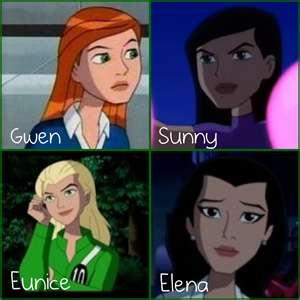 ben 10 girls