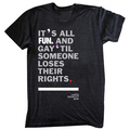 fun. LGBT support tshirt - fun-band photo