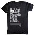 fun. LGBT support tshirt