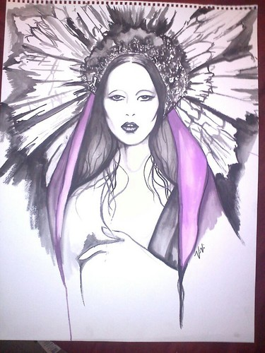 gaga water color