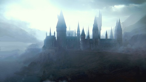Harry Potter پیپر وال titled hogwarts