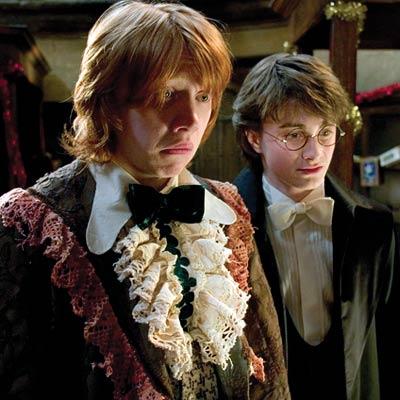 ron Weasley yule ball