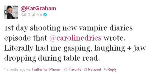 today's Kat's tweet