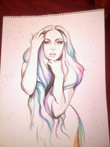 water color gaga