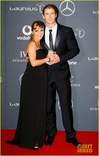Chris Hemsworth: Laureus Awards!
