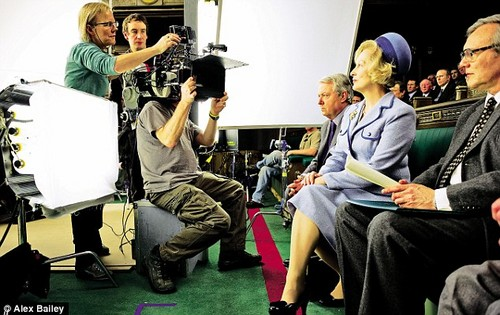 'The Iron Lady' On-Set Pictures
