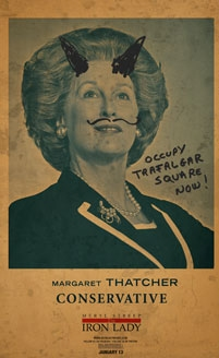 'The Iron Lady' Posters