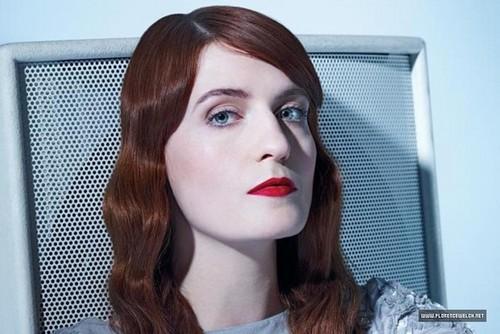 """Florence + The Machine karatasi la kupamba ukuta titled """"Time Magazine"""" Outtakes"""