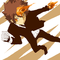 .:Tsuna:. - katekyo-hitman-reborn fan art