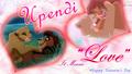 "the-lion-king -  ""Upendi"" Lion King Love Wallpaper wallpaper"