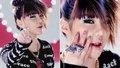 2NE1 member Park Bom's makeup